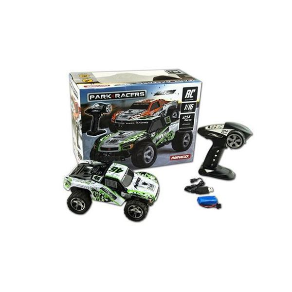 Coche 4 x 4 Abyss green r/c Parkracers