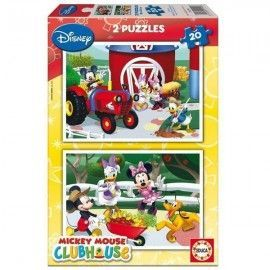 Puzzle Mickey 2 x 20
