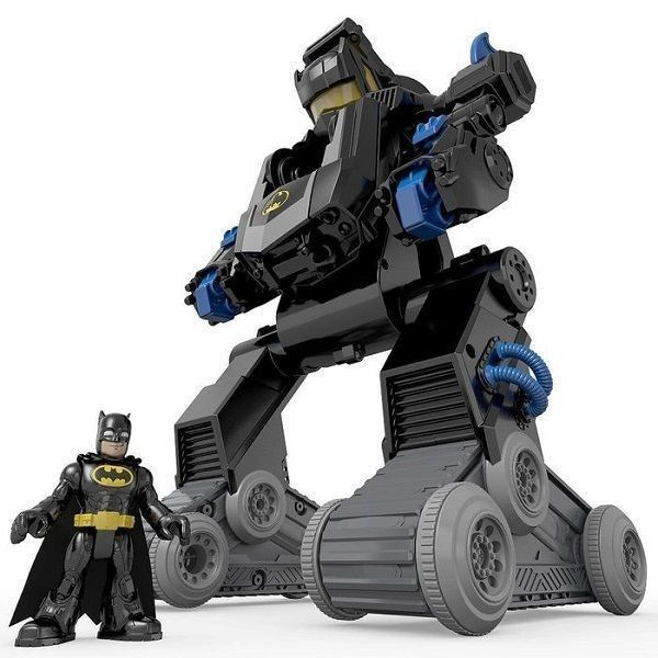 Imaginext Batrobot transformable