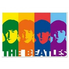 Puzzle The Beatles pop art