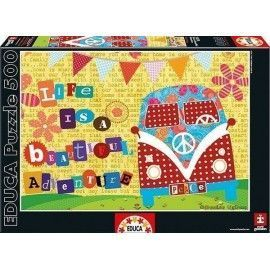 Puzzle Life is a beautiful adventure 500 piezas