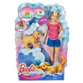Barbie y perrito Chip Chap