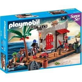 Playmobil superset fuerte piratas