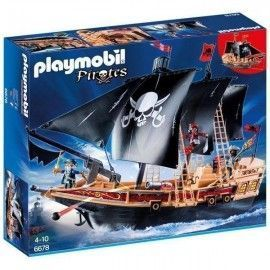 Playmobil piratas buque corsario