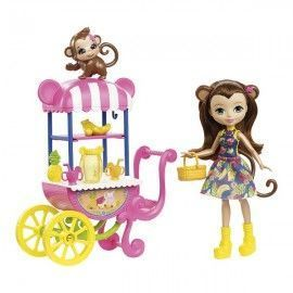 Enchantimals carrito de fruta