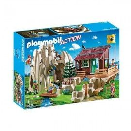 Playmobil escaladores con refugio
