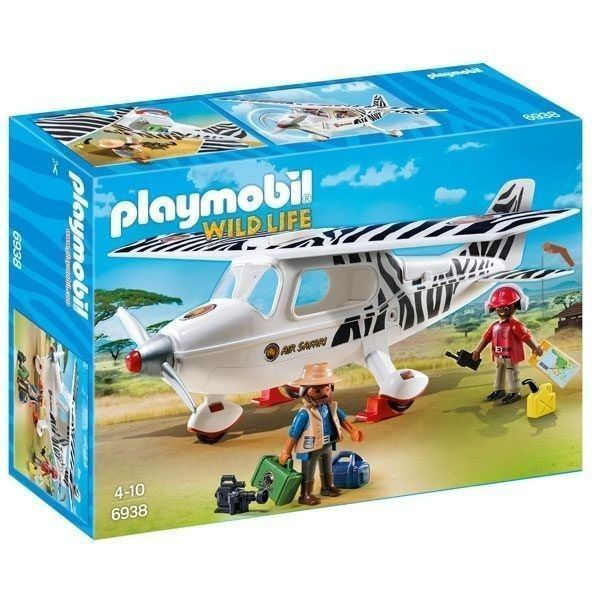Playmobil avión safari