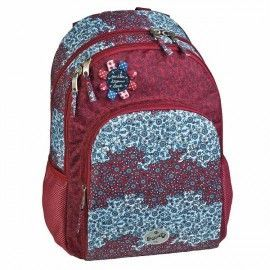 Mochila escolar doble Folk