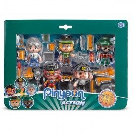 Pin y Pon action pack 5 figuras