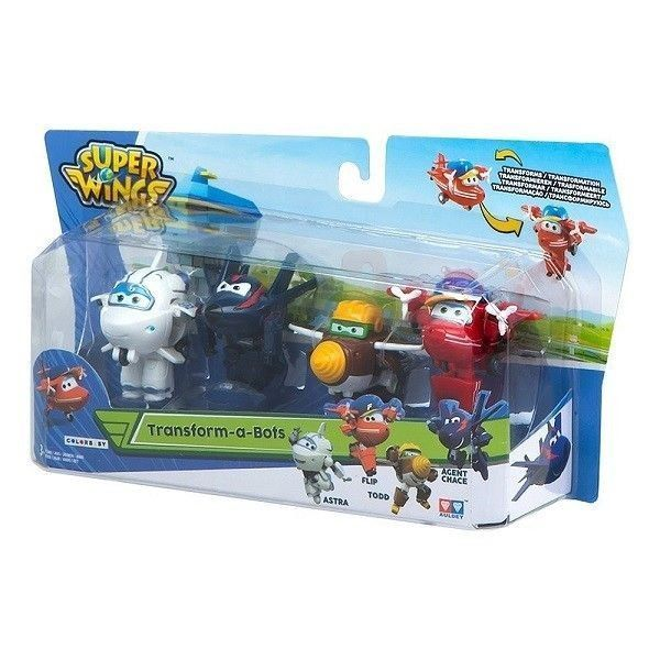 Super wings pack Astra-Todd-Flip-Agent Chace