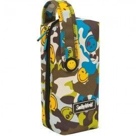 Estuche multiple Smiley camu
