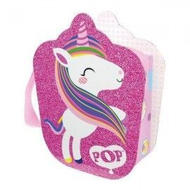 Markwins Pop girls bolso maletin unicornio