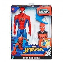 Figura Spiderman Blast Gear