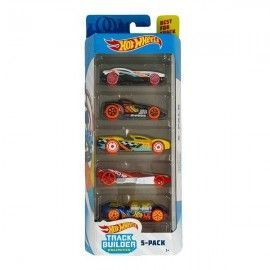 Hot Wheels pack 5 coches Track Builder unlimited