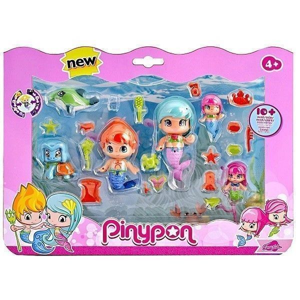 Pin y Pon pack sirenas
