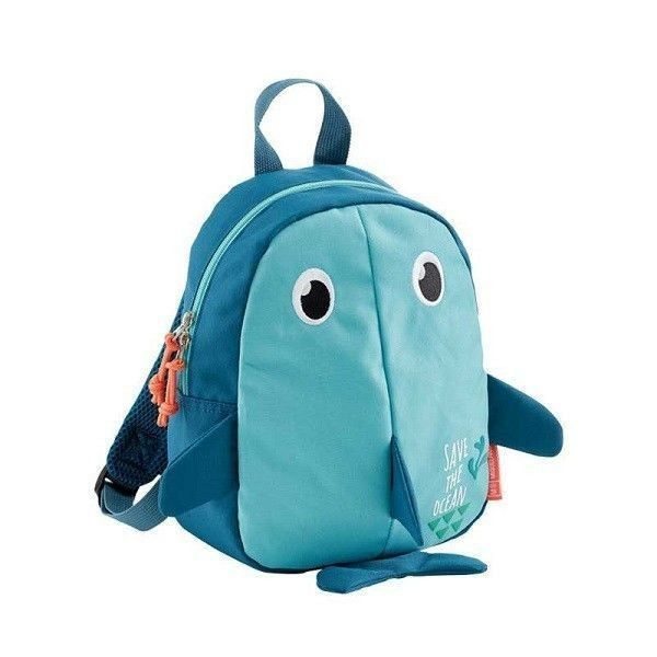 Mochila mini tiburon Save the ocean