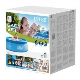 Intex piscina easy set 244 x 76 con depuradora