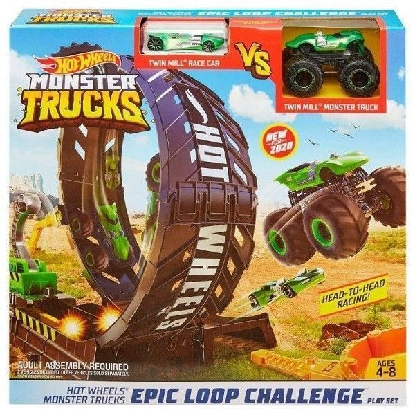 Hotwheels monster truck reto de loopings epicos