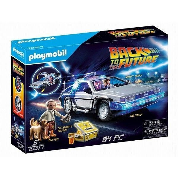 Playmobil Regreso al futuro Delorean