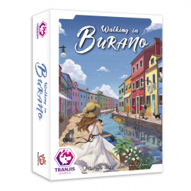 Juego walking in Burano