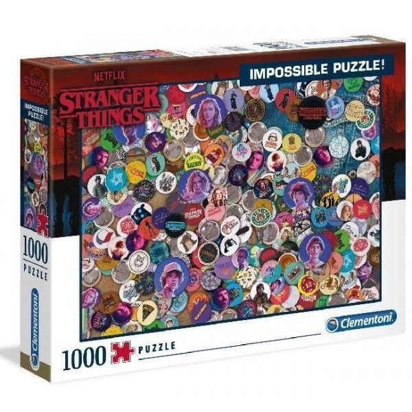 Puzzle Stranger Things imposible 1000