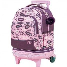 Mochila carro compact desmontable tandem Chocolate