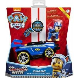Paw Patrol vehiculos Race & Go Deluxe