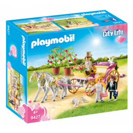 Playmobil City Life carruaje nupcial