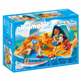Playmobil Family Fun familia en la playa