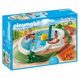 Playmobil Family Fun piscina