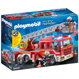Playmobil City action camión de bomberos con escalera